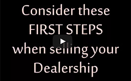 First Steps To Selling Your Dealership