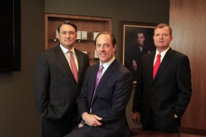 Chris Crosby, Edward Dobbs and Michael Orians Photo: Alan Howell, Memphis Business Journal