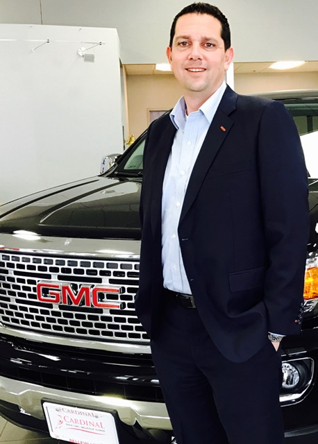 Rick Jones, Cardinal Buick GMC