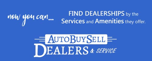 Find auto dealership services and amenities