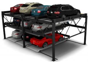 CityLift semi-automated parking