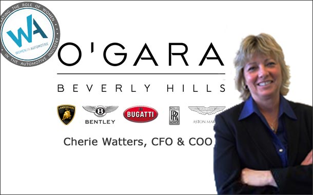 A woman's place is in the dealership for Cherie Watters