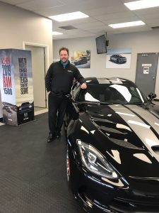 Russ Hubler with Dodge Viper
